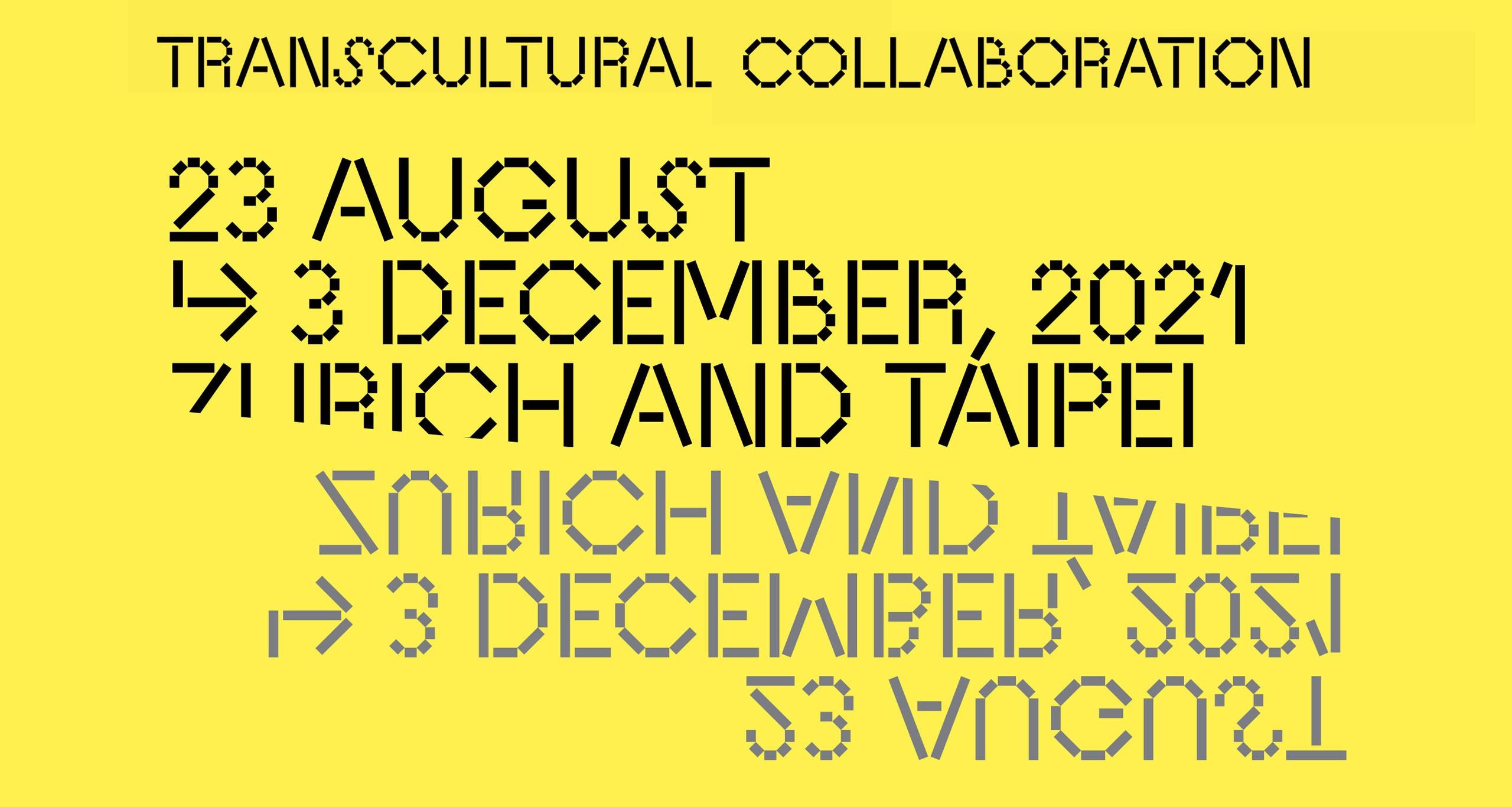 2021 Transcultural Collaboration